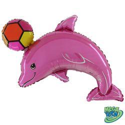 golfinho-com-bola-rosa