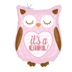 35156H-It-s-A-Girl-Baby-Owl