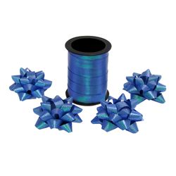 Fitilho com 10 M com 4 Laços Azul - Funny Fashion