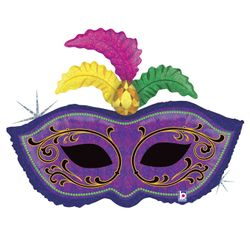 35222H-Mardi-Gras-Feather-Mask