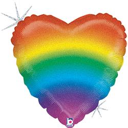 balao-metalizado-em-formato-de-coracao-arco-iris-grabo-36881GH-Glitter-Rainbow-Heart