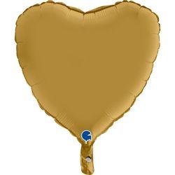 180S00G-Heart-18inc-Satin-Gold